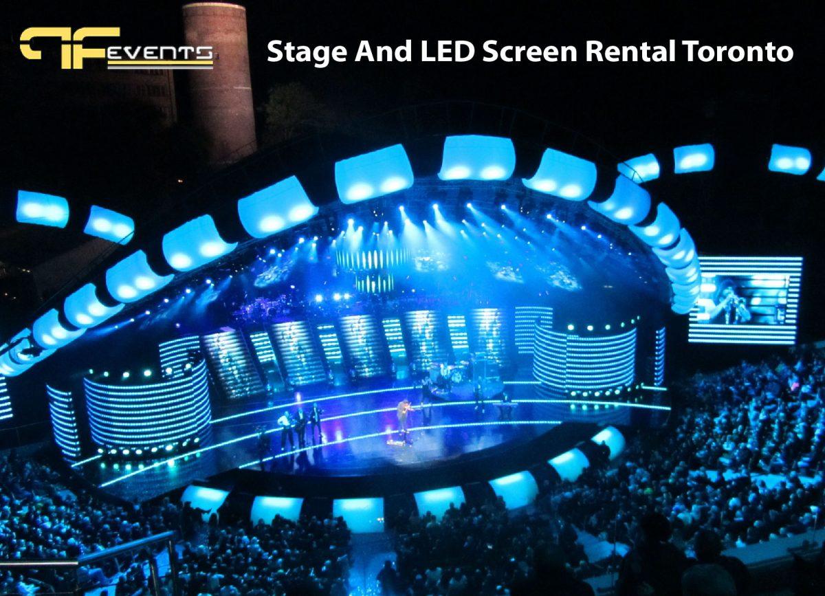 led screen rental Toronto